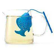 Недорогие -Силикон Очаровательный / Чайный Маленькая рыба 1шт Фильтры / Ситечко для чая