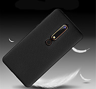 cheap -Case For Nokia Nokia 7 Plus / Nokia 6 2018 Ultra-thin Back Cover Solid Colored Soft TPU for Nokia 9 / Nokia 8 / Nokia 7