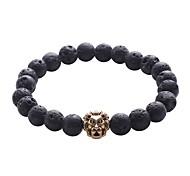 cheap -Men's Strand Bracelet / Hologram Bracelet / Bracelet - Vintage, Natural, Fashion Bracelet Black For Gift / Daily