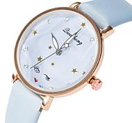 Недорогие -Жен. Наручные часы Повседневные часы / Милый PU Группа Мода / Элегантный стиль Черный / Белый / Синий