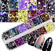 Недорогие -2 pcs Украшения для ногтей / Наборы и наборы для ногтей Из двух частей Инструмент для ногтей / Советы для ногтей Модный дизайн / Творчество На каждый день