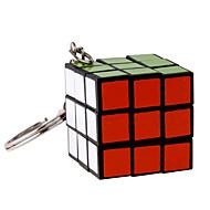 お買い得  おもちゃ & ホビーアクセサリー-3*3*3 マジックキューブ Key Chain ミニ プレゼント キュート プラスチック 1/5/10 pcs 小品 成人 子供用 男の子 女の子 おもちゃ ギフト