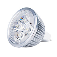 cheap -3000lm GU5.3(MR16) LED Spotlight MR16 4 LED Beads High Power LED Warm White 12V