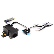 Flex Cable With Cudio Connector For Iphone 4G(BLACK) iPhone Replacement Parts
