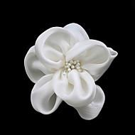 Damen Satin Künstliche Perle Kopfschmuck-Hochzeit Besondere Anlässe Freizeit Blumen