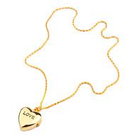 Dames Modieus horloge Kwarts Band Heart Shape Goud
