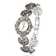 cheap -Women's Bracelet Watch Japanese Quartz Silver Casual Watch Analog Ladies Flower Fashion Elegant - Silver One Year Battery Life / SSUO SR626SW