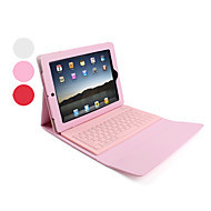 cheap iPad Keyboards-Case For Apple iPad 4/3/2 Full Body Cases Solid Colored Hard PU Leather for Apple