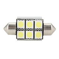abordables Accesorios Electrónicos-1pc 12 V Decoración Luz de Lectura / Bulbos de Luz LED