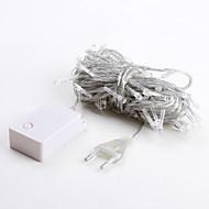 olcso -string lámpák ac220 10m 100 leds meleg fehér magas minőségű led led