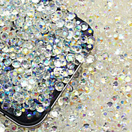 200 stücke 3d nagel diamant schmuck shiny nail art diy dekorationen
