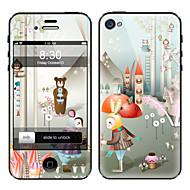 Недорогие Защитные плёнки для экрана iPhone-Защитная плёнка для экрана Apple для iPhone 6s iPhone 6 1 ед. Защитная пленка на всё устройство