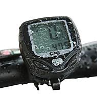 preiswerte Zubehör für Radsport & Fahrrad-SUNDING Engineering Plastic Funk 15 Funktionen wasserdicht Fahrradcomputer 548C2 (Black)