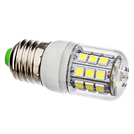 3.5 E26/E27 LED Corn Lights 30 leds SMD 5050 360lm Natural White 6000K AC 110-130 AC 220-240