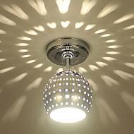 צמודי תקרה Ambient Light Electroplated מתכת סגנון קטן, LED 110-120V / 220-240V לבן חם / כחול נורה כלולה