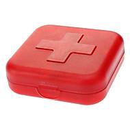 tanie Podróże-Podróżne pudełko/pojemnik na leki Przenośny na Niezbędniki podróżne do nagłych wypadków