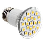 お買い得  LED スポットライト-150lm E26 / E27 LEDスポットライト PAR38 21 LEDビーズ SMD 5050 温白色 220-240V