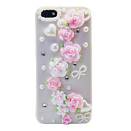 Love Of Rose Pearl Back Case for iPhone 5/5S