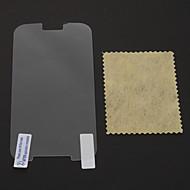 Недорогие Чехлы и кейсы для Galaxy S-Защитная плёнка для экрана для Samsung Galaxy S4 PVC Защитная пленка для экрана Защита от царапин