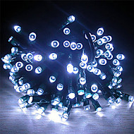 22M Solar Power 200 White Light LED Fairy String Light Lamp Xmas Party Wedding Garden Decor