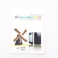 abordables Protectores de Pantalla para Samsung-Protector de la pantalla frontal transparente 3x para Samsung Galaxy Note N7100 2