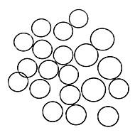 Vandtæt O-ringstætning (30mm 20-pack)