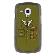 Недорогие Чехлы и кейсы для Galaxy S-Военного образца рисования Равномерное Защитные Жесткий задняя обложка чехол для Samsung Galaxy Trend Duos S7562