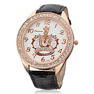 baratos -Mulheres Relógio de Moda Relógio de Pulso Quartzo Preta / Branco Venda imperdível Analógico senhoras Brilhante - Branco Preto