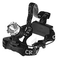 3 Torce frontali LED 1600 Lumens 1 Modo Impermeabile per Campeggio/Escursionismo/Speleologia Ciclismo Pesca Lavoro Scalata