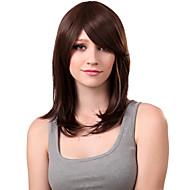 Mujer Pelucas sintéticas Corte Recto Con flequillo Pelucas para Disfraz