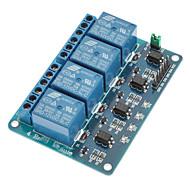 お買い得  Arduino 用アクセサリー-4チャネル12V低レベルトリガリレーモジュール(Arduinoのための)のための(公式(Arduinoのための)ボードで動作します)