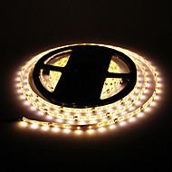 z®zdm impermeable 24w 5m 60x3528smd 900-1200lm 2800-3200K luz blanca cálida luz de tira llevada (dc12v)