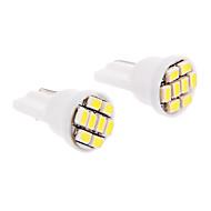 T10 Araba Soğuk Beyaz SMD LED 6000 Gösterge Işıkları Plaka Aydınlatma Lambası Sinyal Lambası Fren Işığı
