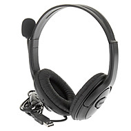 cheap -Wired USB Stereo Headphone Headset with Remote for PS3