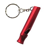 abordables -Extérieur de survie en aluminium Whistle Keychain (couleurs assorties)