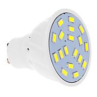 お買い得  LED スポットライト-GU10 LEDスポットライト 18 LEDの SMD 5630 クールホワイト 570lm 5500-6500K 交流220から240V