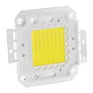 お買い得  -diy 70w 5550-5600lm 2100ma 6000-6500kクールな白色光統合モジュール(30-36v)