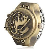 abordables Relojes Anillo-Mujer Cuarzo Banda Negro / Marrón / Bronce - Negro Marrón Bronce