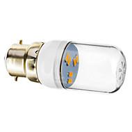 お買い得  LED コーン型電球-1個 1 W 70-90 lm B22 LEDスポットライト 6 LEDビーズ SMD 5730 温白色 220-240 V