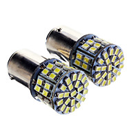 1157 Araba Kamyonlar ve Römorklar Soğuk Beyaz 5W SMD LED 6000 Gösterge Işıkları Okuma Işığı Yan Lambalar Fren Işığı Kapı lambası