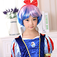 Kids Women Synthetic Wig Curly Costume Wig
