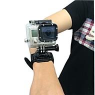 お買い得  スポーツカメラ & GoPro 用アクセサリー-ハンドストラップ 防水ハウジング ケース 取付方法 防水 ために アクションカメラ Gopro 4 Black Gopro 4 Session Gopro 4 Silver Gopro 4 Gopro 3 Gopro 3+ Gopro 2 繊維 プラスチック