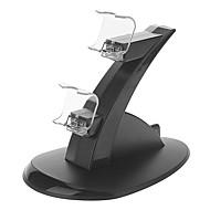Χαμηλού Κόστους Αξεσουάρ PS4-Ελεγκτής φόρτισης Βάση για PS4 (Μαύρο)