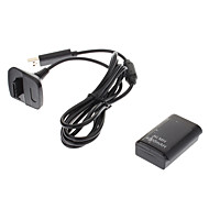 USB Batteries and Chargers for Xbox 360 Portable Rechargeable USB Hub Wired