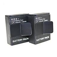 2014 Hot  2 PCS AHDBT-301 Go pro rechargeable Digital Battery for gopro HD Hero Hero 3 & 3+ For Go Pro 1050mAh 3.7V