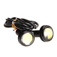 Paar 3W High Power LED Ultradunne LED Eagle Eye achterlicht Backup Rear Lamp witte kleur 2786