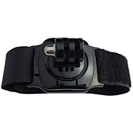 TOZ TZ-GP155 Sport Camera Wristband Mount with 360 Degree Rotation for GoPro Hero 1 / 2 / 3 - Black