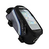 billige -ROSWHEEL Vesker til sykkelramme Mobilveske 4.2/5.5/6.2 tommers Reflekterende Stripe Vanntett Anvendelig Skliresistent Berøringsskjerm