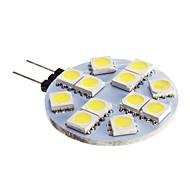 お買い得  LED スポットライト-1pc g4 ledランプ電球12v dc 12 smd 5050シャンデリアrv /ボートライト白暖かい白