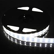 رخيصةأون شريط الضوء LED-المزدوج الصف 600x5050 مصلحة الارصاد الجوية 6000LM 144W IP67 للماء الأبيض ضوء أدى الشريط الضوء (5 متر 12V / DC)